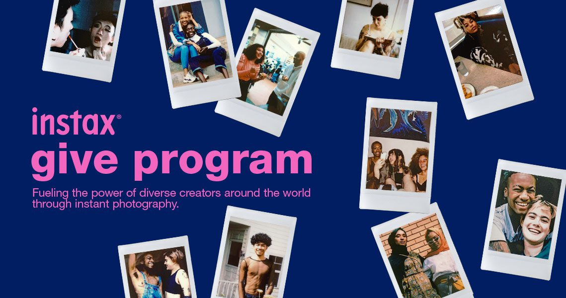 Instax Give Program